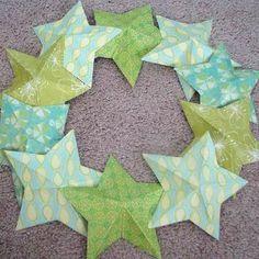 3D Stars Stunner Summer Wreath