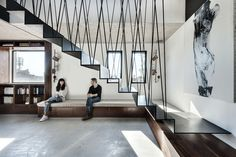 Duplex Penthouse And Roof Terrace In Tel Aviv   Picture Gallery Moderne  Treppen, Stilvoll Wohnen