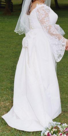 Robe de mariée Alexis mariage, bustier et jupe avec traîne