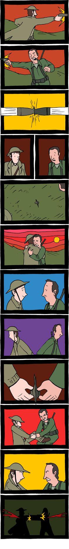 Peace and War | SMBC