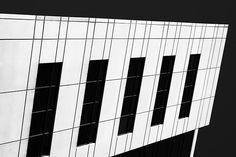"""""""Metropolis BW' by Christi Kraft"""