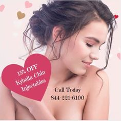 15% Off Kybella! Dump your double chin this Valentine's day! Let the Experts at JUVA help you kiss your submental fat goodbye. 844-221-6100