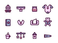 Quincess Icon set