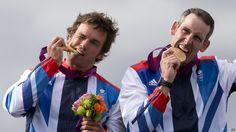 Baillie and Stott (canoe slalom gold)