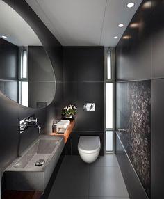 Using Black in the Bathroom