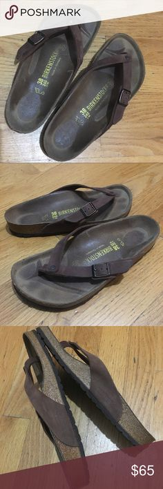 Birkenstock Sandals Very cute Thong Sandals. In very good condition. Birkenstock Shoes Sandals