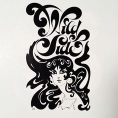 Logo for Wild Side Dresses by Herb #Lubalin and Tom Carnase.  @uniteditions  via @wayneford