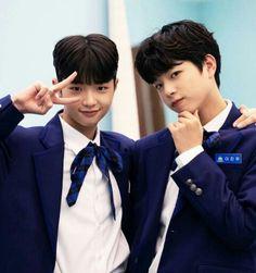 My twin babyyyy so uwuu💞💞 Cute Korean Boys, Asian Boys, Cute Boys, Kpop, Kim Min Gyu, Korean Language Learning, Daddy And Son, Produce 101, Handsome Boys