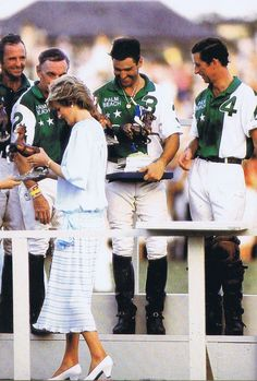 November 13, 1985: Prince Charles & Princess Diana end their visit to the USA, after Charles plays in a polo match at West Palm Beach, Florida.
