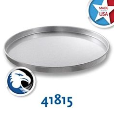 Chicago Metallic 41815 Cake Pan 18 diameter x 1 deep round glazed  Case of 1 -- Click image to review more details.