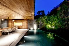 CJWHO ™ (Two Houses Become One: Wall House by...)