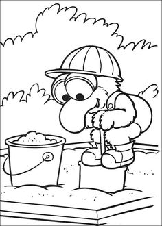 59 Muppet Babies Printable Coloring Pages For Kids Find On Book Thousands Of