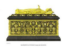 Mausoleum of Mary Burgundy, 1502, O.L. Vrouwekerk, Bruges.