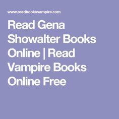 Read Gena Showalter Books Online | Read Vampire Books Online Free