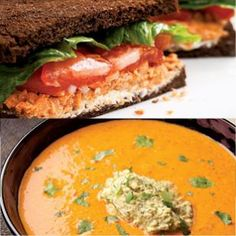 Soup or sandwich: what's the best lunch for weight loss? | Eating Well