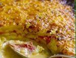 my new favorite cheesy potato recipe...PIMENTO CHEESE POTATO GRATIN ...