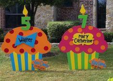 New Yard Signs Ideas Business Ideas - Beauty Black Pins Cute Birthday Ideas, Birthday Diy, 13th Birthday, Birthday Wishes, Birthday Parties, Happy Birthday Yard Signs, Wood Yard Art, Business Signs, Business Ideas