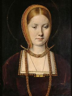 Catherine of Aragon by an unknown artist c.1509