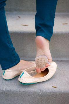 Sheec Sockshion, sheec socks, no-show sock, ballet flats, honest Tieks ballet flats review