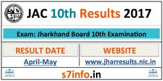 jac.nic.in – JAC 10th Result 2017, JAC Result 2017 -Jharkhand Board