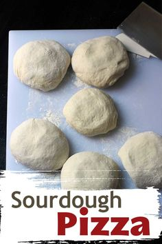 Jan 2020 - Use up sourdough starter discard in this deliciously flavorful sourdough pizza crust. Mix the dough in the morning and bake into pizzas at dinnertime. Dough Starter Recipe, Sourdough Starter Discard Recipe, Sourdough Recipes, Sourdough Bread, Starter Recipes, Sourdough Pizza Dough Recipe, Bread Starter, Yeast Starter, Pizza Au Levain