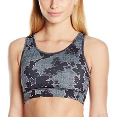 0ea091d6e9 The Warm Up by Jessica Simpson Women s Sports Bra with Criss Cross Back  Detail   To view further for this item