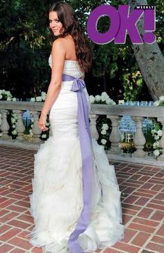 Khloe Kardashian in her Vera Wang dress | Celebrity Weddings ...
