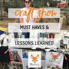 My First Craft Show: Learning Lessons