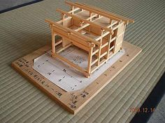 Japanese Tea House Model