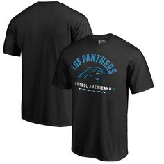 Carolina Panthers NFL Pro Line by Fanatics Branded Futbol Americano T-Shirt - Black