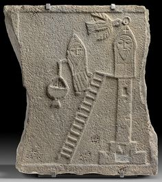 Relief of a Stylite Saint Date: 5th–6th century Geography: Made in Syria
