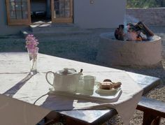 Karoo tea and biscuits