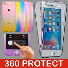 Shockproof 360° silicone protective #clear case #cover for apple #iphone 7 6s pl,  View more on the LINK: 	http://www.zeppy.io/product/gb/2/201588478099/