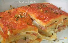 """La ricetta di oggi èla torta di pane filantedella bravissima Michela del blog """"Molliche di zucchero"""""""