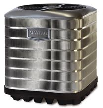 The Maytag iQ Drive heat pump leads the industry as the most efficient system on the market at up to 22 SEER. This level of efficiency means greatly reduced utility bills. The iQ Drive heat pump also includes an industry leading 12-year warranty and a 12-year dependability promise. This system is equipped with a sound package and a variable speed compressor. At 59 dB, this system one of the quietest in the industry…