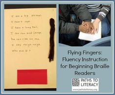 Strategies to Help Beginning Braille Readers Develop Fluency