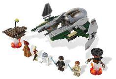 1 x Lego System Bauanleitung Star Wars Episode 3 Anakin/'s Jedi Interceptor 9494