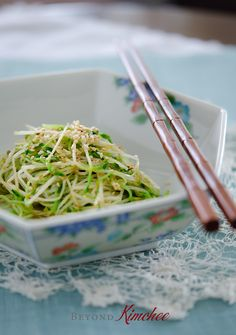 Quick Sauteed Pea Sprout Salad (Trader Joe's pea sprouts would work great with this!)
