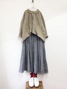 ギンガムチェックスカート / C.GREY | コーディネート|nest Robe ONLINE SHOP