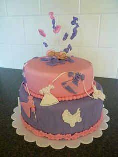 Babyshower taart.
