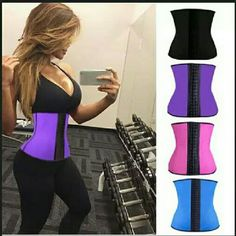 """LATEX WAIST CINCHER SPORT WAIST TRAINER Xs - 24 to 26"""" waist  Sm- 26 to 28"""" waist  M - 28 to 30"""" waist L - 30 to 32"""" waist  Xl - 32 to 34"""" waist 2xl 34 to 36 """" waist  3xl- 36 to 39"""" waist The Moldeate Sport Shaper is designed to dramatically nip away at your waist, leaving you with the ultimate hour-glass figure.?  The triple layer fabric is made from jacquard, thermal latex and cotton for durability and breathability, keeping you slim. Wear this Shape Maker with a variety of tops and…"""