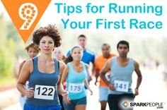 9 Helpful Tips for Your First Race (from a 5K to a 10K to a Mud Run to a Marathon) #running | via @SparkPeople