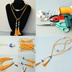Like the wax cord tassel pendant necklace?See more details from Pandahall.com