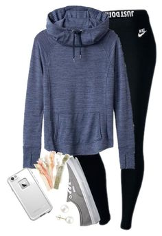 """""""I strongly dislike mrs. rutland:)))))"""" by elizabethannee ❤ liked on Polyvore featuring NIKE, Athleta, Vans, LifeProof and Miadora"""