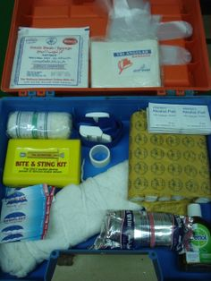 Basic Snakebite First Aid Management Kit. Again the first in Pakistan who offer Snakebite First Aid Management Course along with the comprehensive training devices like the kit shown here and snake catcher and other supporting equipment. We offer Snakebite First Aid Management Course as well as sell these kits.