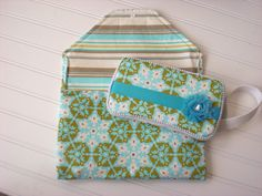 For Sale: Diaper Clutch with Wipes Case
