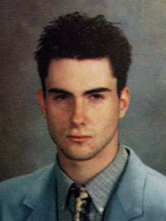 PHOTOS: The evolution of Adam Levine! WOAH! He used to look so different!
