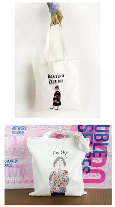原创可爱女孩字母简约清新帆布袋文艺潮流单肩拉链帆布包环保袋韩-淘宝网