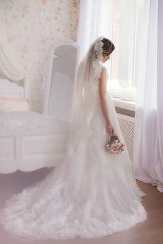 УТРО НЕВЕСТЫ: НЕЖНАЯ УТРЕННЯЯ ФОТОСЕССИЯ ЕЛЕНЫ Shabby shic bridal pink morning