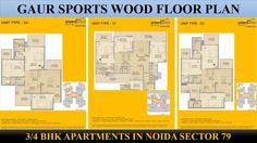 Buy Gaur Sports Wood Apartments At Sector 79 Noida